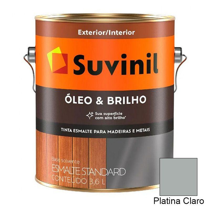 TINTA SUVINIL ÓLEO E BRILHO PLATINA CLARO 3,6L 8032