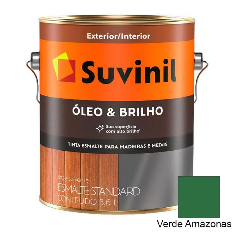 TINTA SUVINIL ÓLEO E BRILHO VERDE AMAZONAS 3,6L 7873