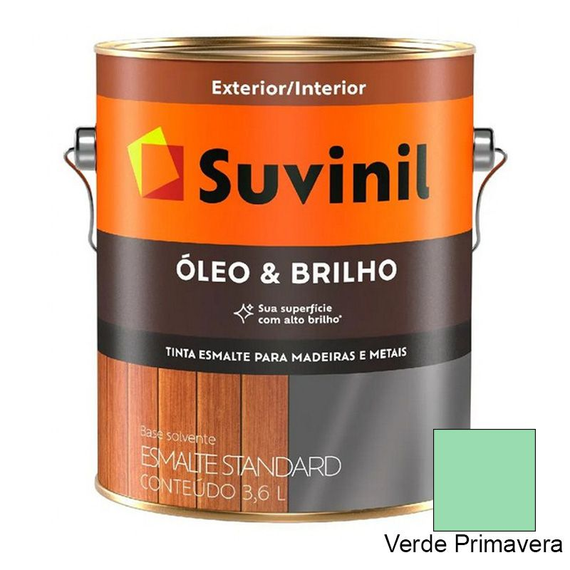 TINTA SUVINIL ÓLEO E BRILHO VERDE PRIMAVERA 3,6L