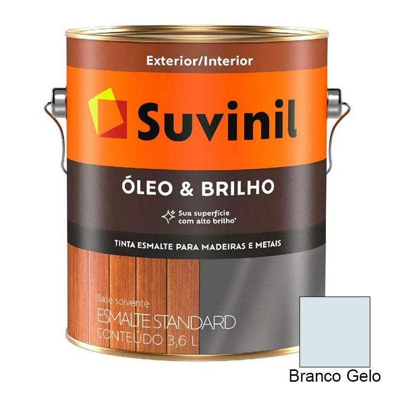 TINTA SUVINIL ÓLEO E BRILHO BRANCO GELO 3,6L 7025