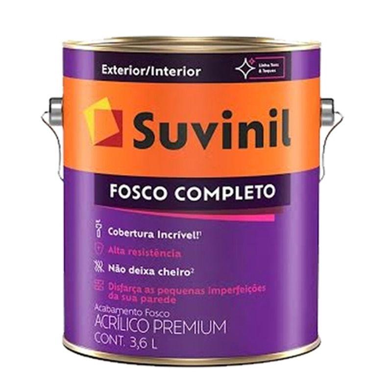 TINTA SUVINIL ACRÍLICO FOSCO COMPLETO BASE C2 3,2L