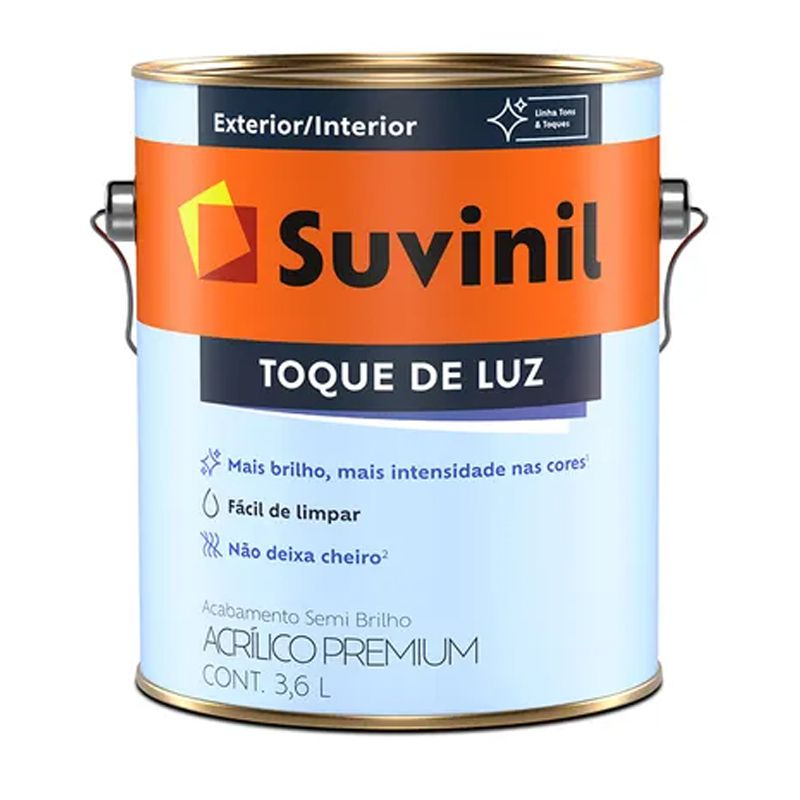 TINTA SUVINIL ACRILICO SEMIBRILHO ILUMINA B A2 3,2L