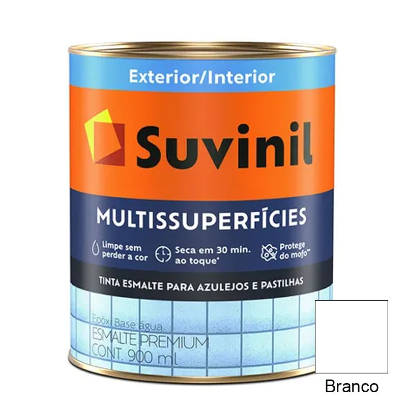 TINTA SUVINIL EPÓXI BANHEIRO & COZINHA BRANCO 3,6L 8762