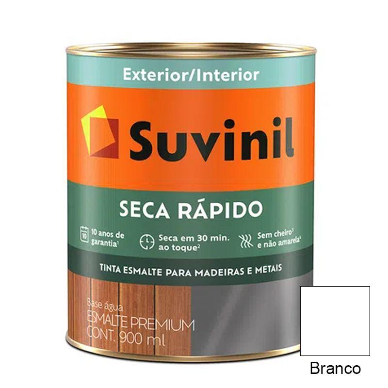TINTA SUVINIL ESMALTE BRILHANTE SECA RÁPIDO BRANCO 900ML