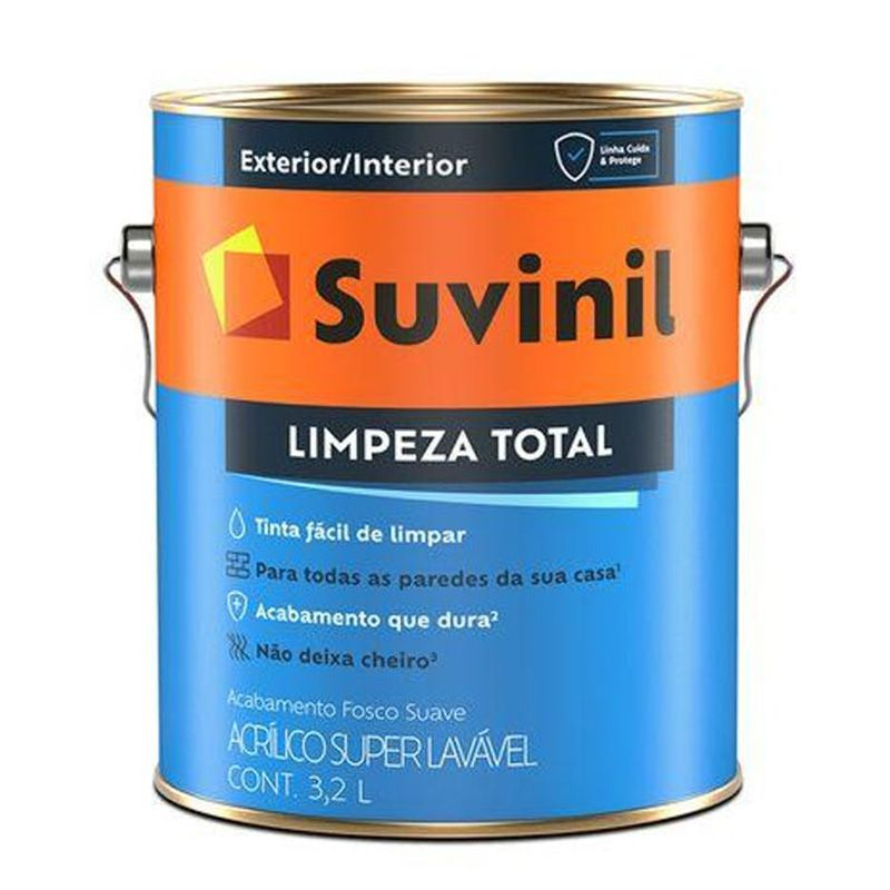 TINTA SUVINIL LIMPEZA TOTAL BASE A2 3,2L 0961