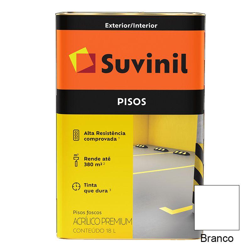 TINTA SUVINIL PISO BRANCO 18L