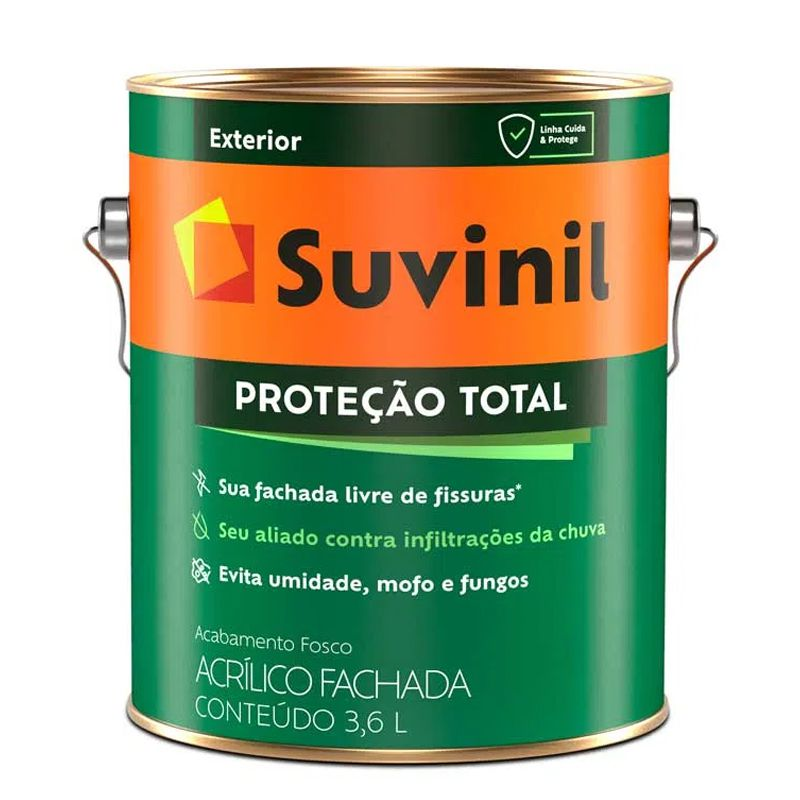 TINTA SUVINIL PROTEÇÃO TOTAL B A2 3,2L