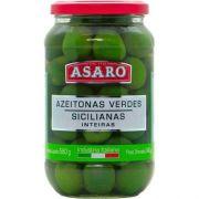 AZEITONA VERDE SICILIANAS ASARO 580G