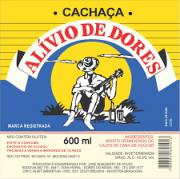 CACHAÇA ALIVIO DE DORES 600ML