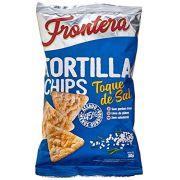 TORTILHA CHIPS TOQUE DE SAL 38G FRONTERA