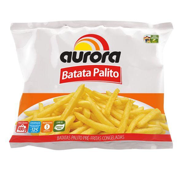 BATATA PALITO CONGELADA AURORA 400G