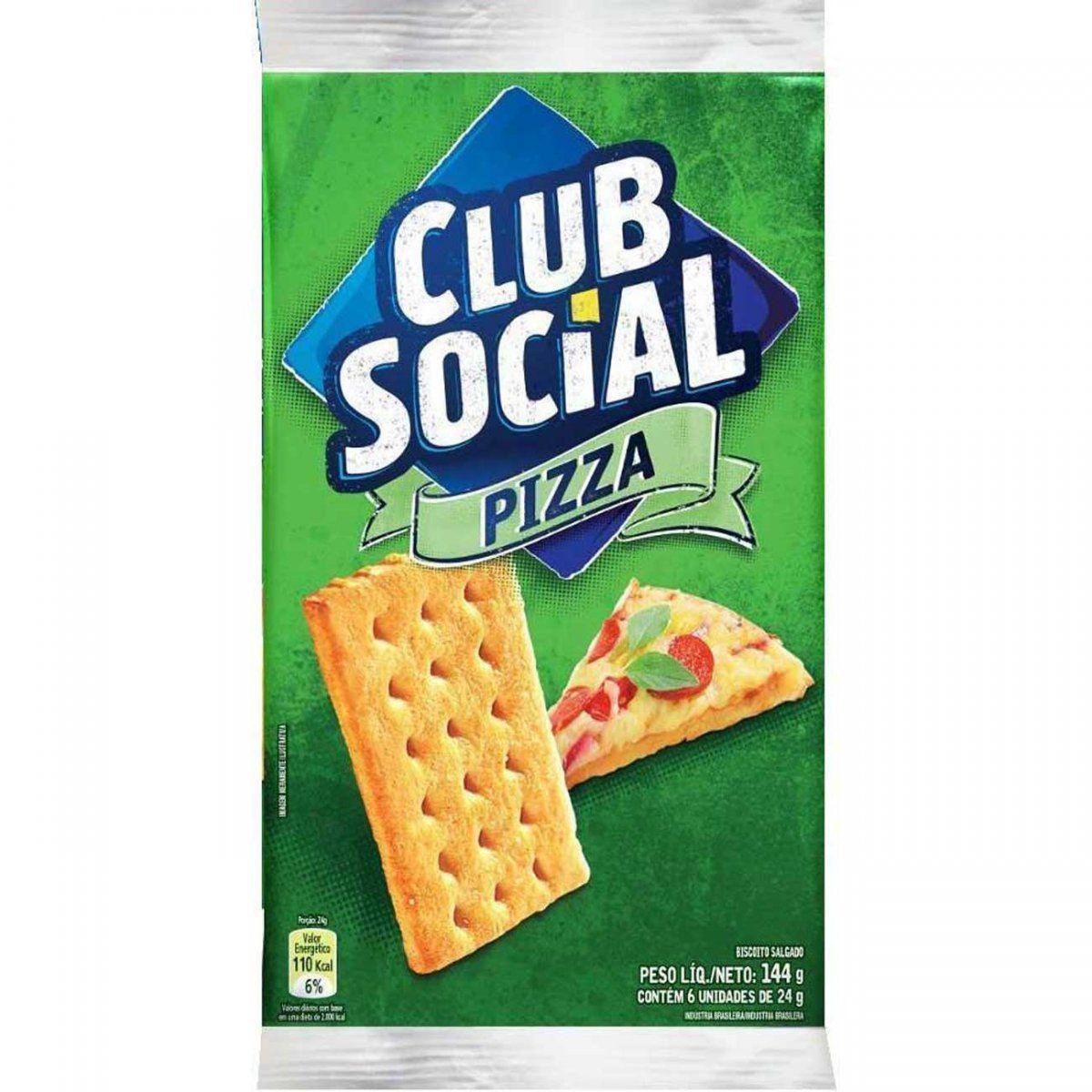 BISCOITO CLUB SOCIAL PIZZA 144G