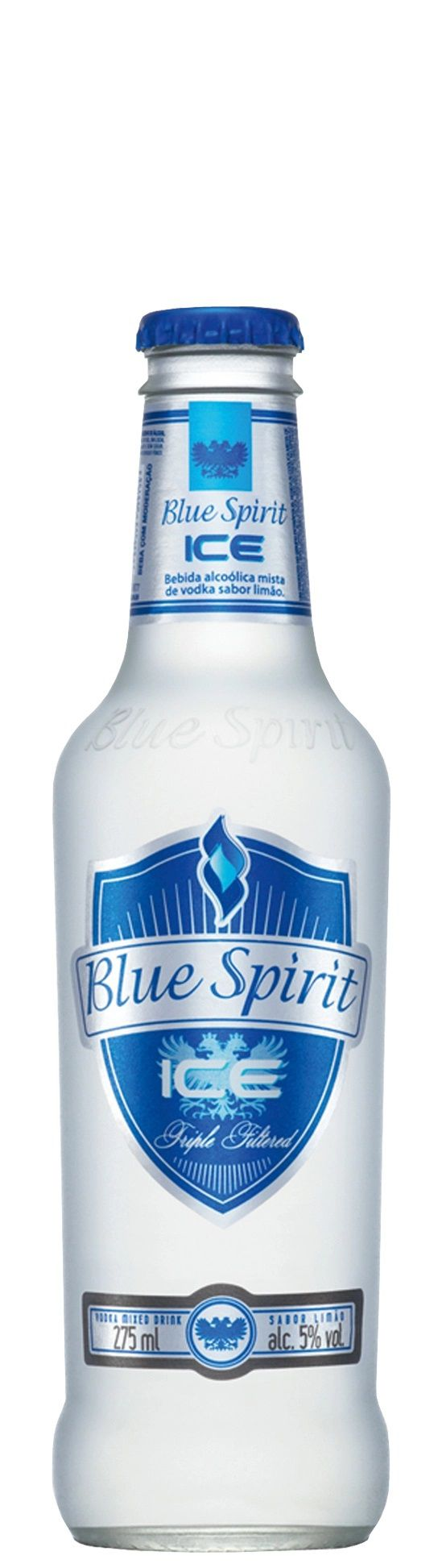 ICE BLUE SPIRIT LONG NECK 275ML
