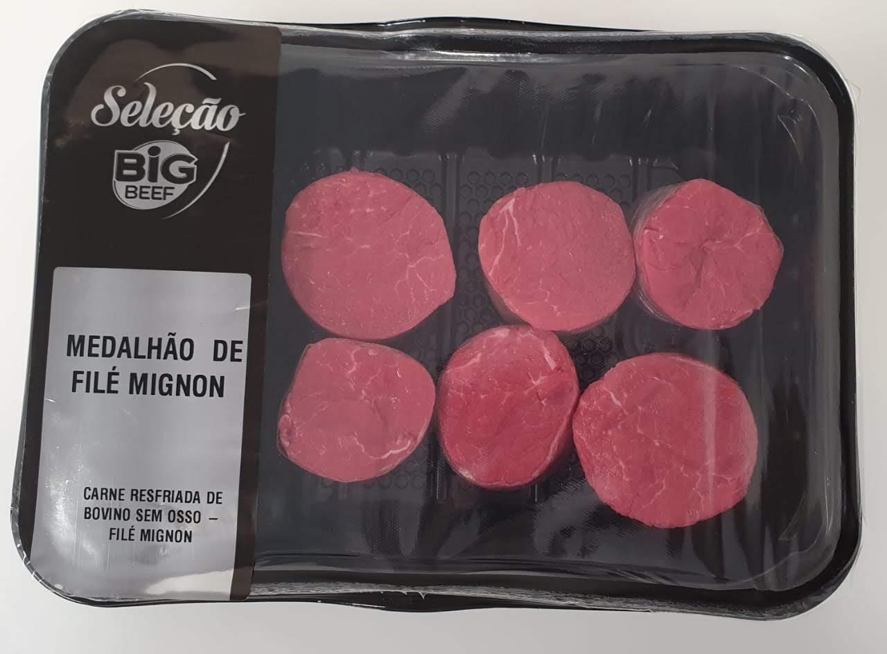 MEDALHÃO DE FILÉ MIGNON 500G ATM