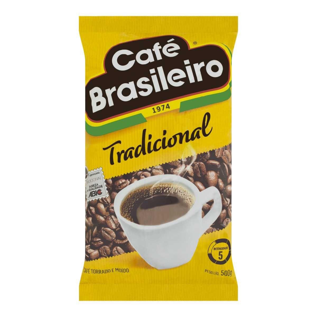 CAFÉ BRASILEIRO TRADICIONAL ALMOFADA 500G