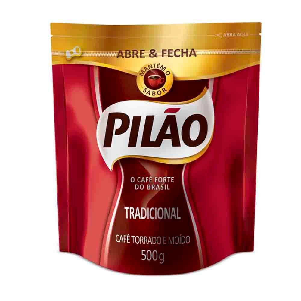 CAFÉ PILÃO TRADICIONAL DOY PACK 500G