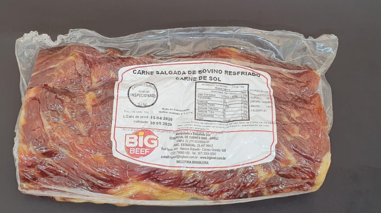 CARNE DE SOL BIG BEEF 1KG