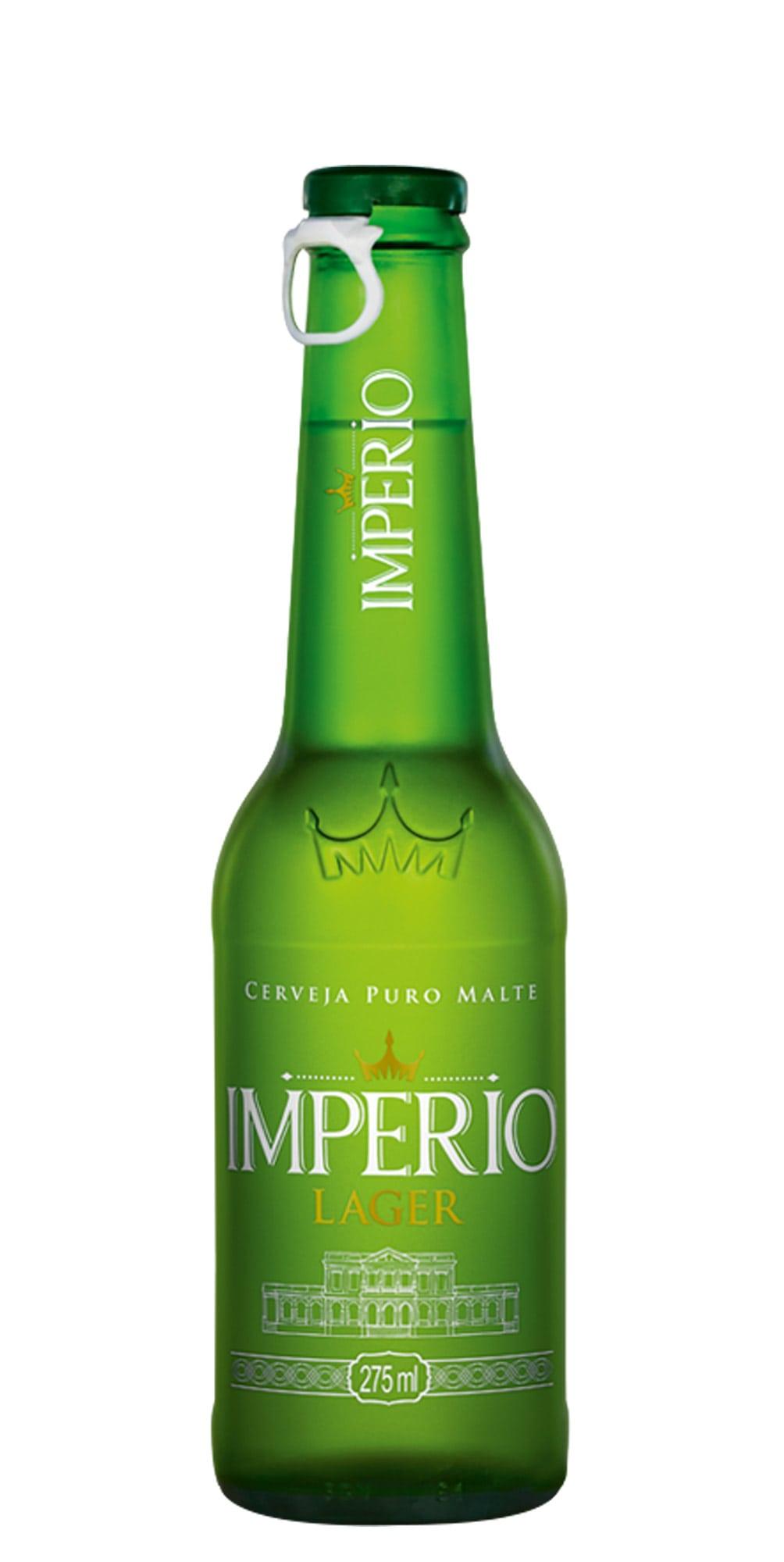 CERVEJA IMPERIO LAGER LN 275ML