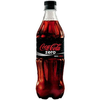 COCA COLA ZERO PET 600ML
