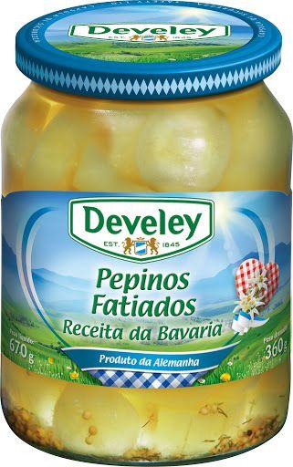 CONSERVA AL DEVELEY PEPINO FATIADO 360G