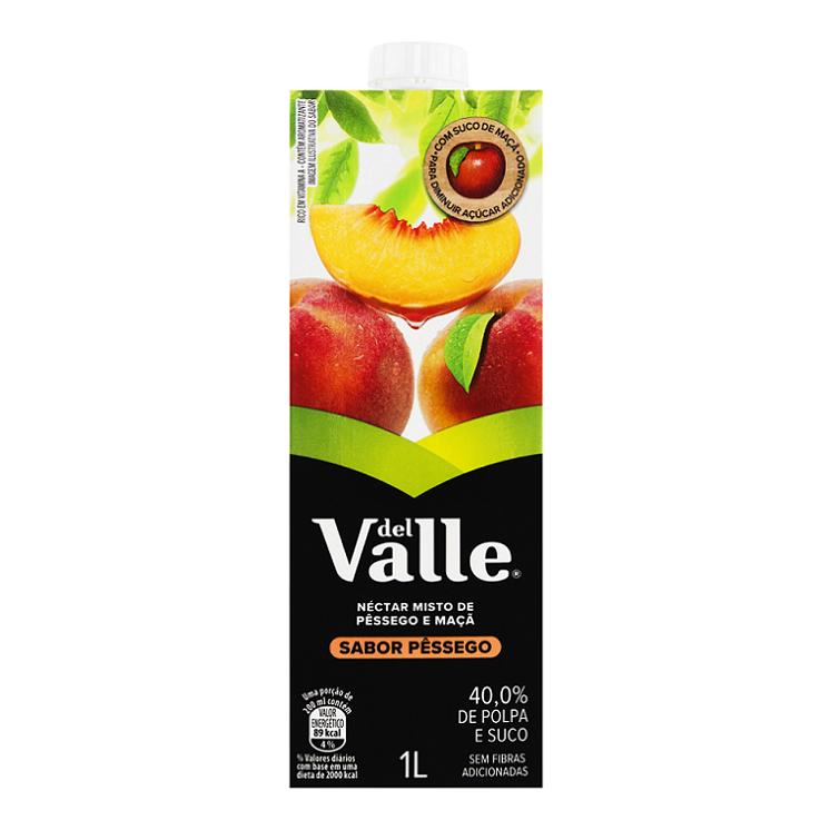 SUCO DEL VALLE PESSEGO 1L
