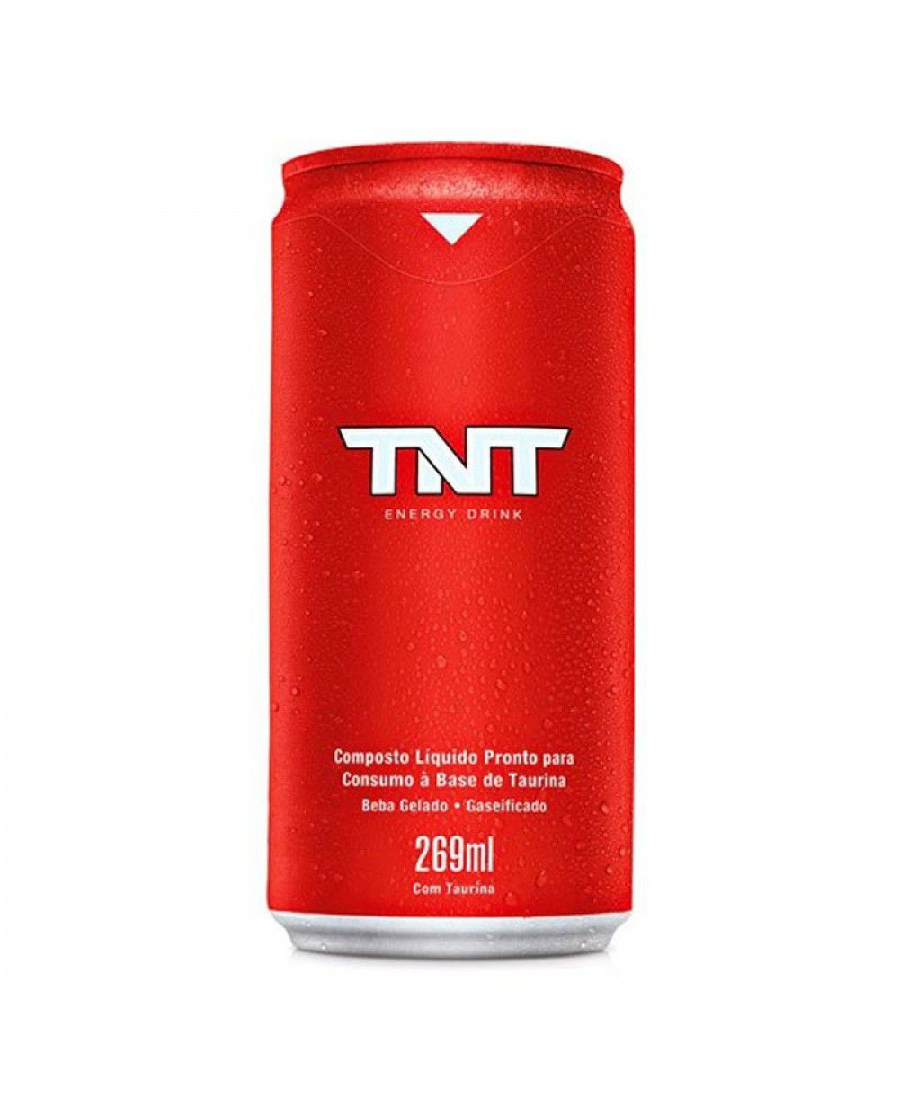 ENERGY DRINK TNT RED LATA 269ML