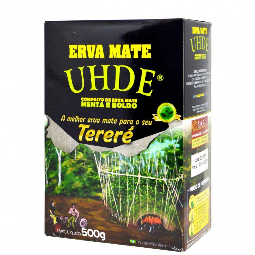 ERVA MATE UHDE MENTA/BOLDO 500G