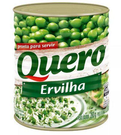 ERVILHA QUERO LATA 200G