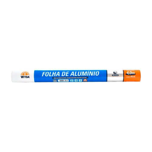 FOLHA DE ALUMÍNIO 45CMX4M