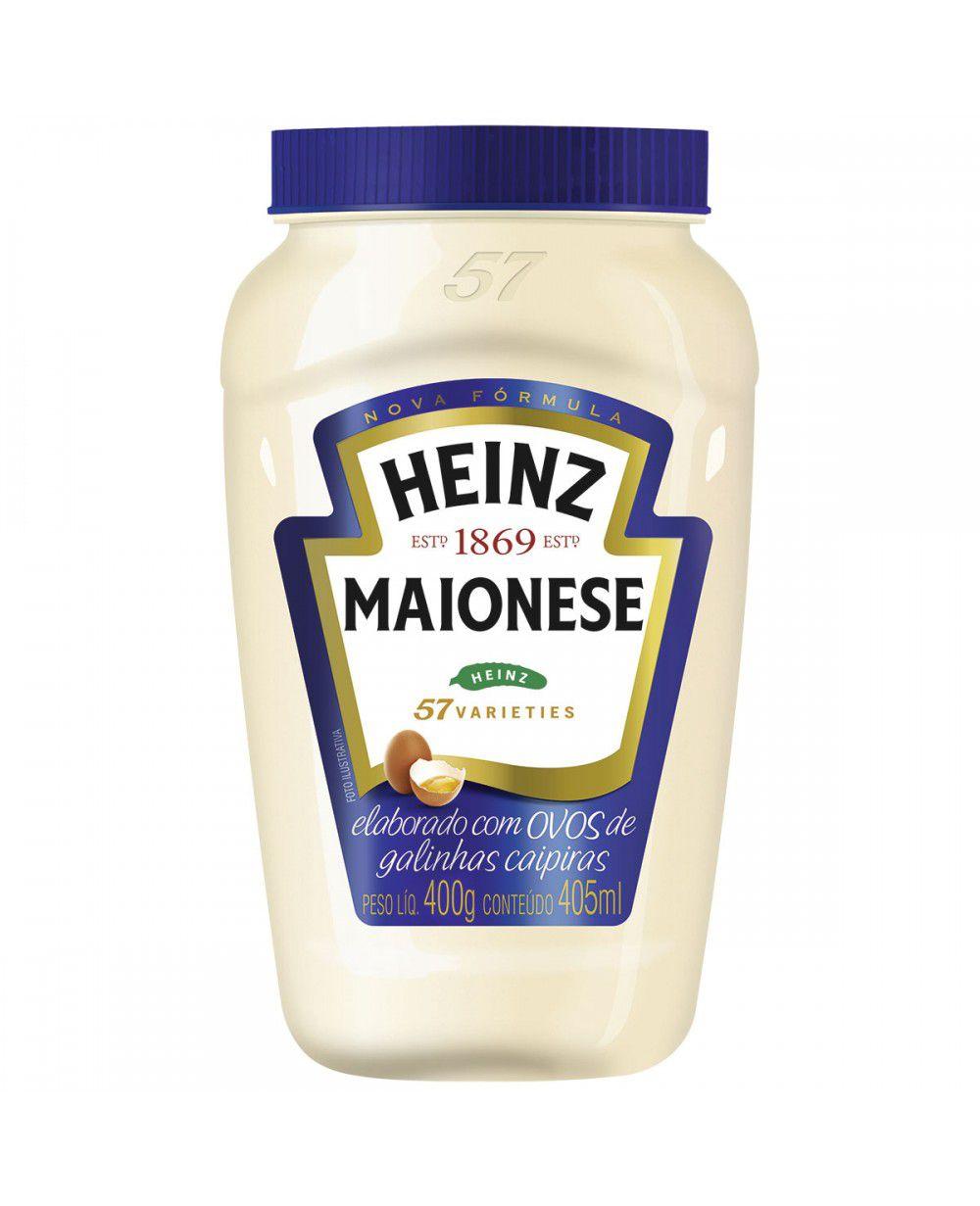 MAIONESE HEINZ 400G