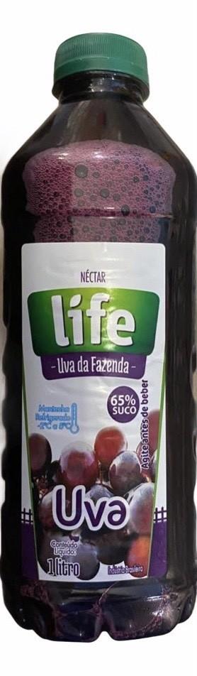 NECTAR DE UVA 900ML SUCO LIFE