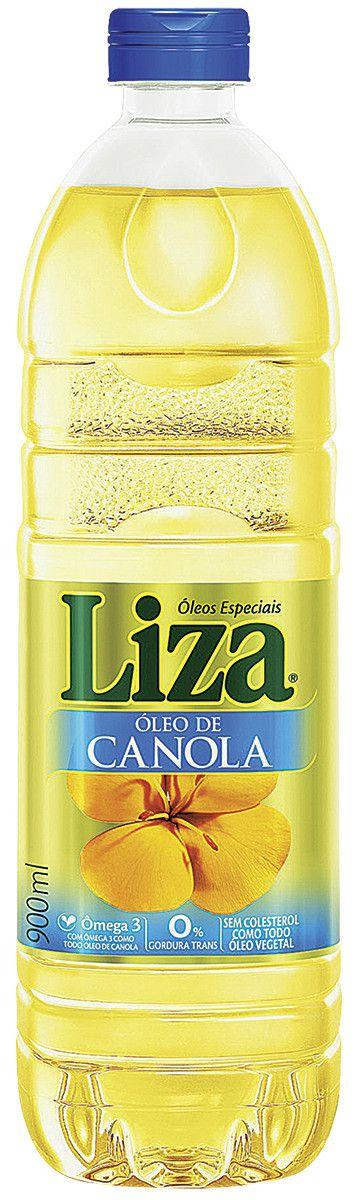 OLEO DE CANOLA LIZA 900ML