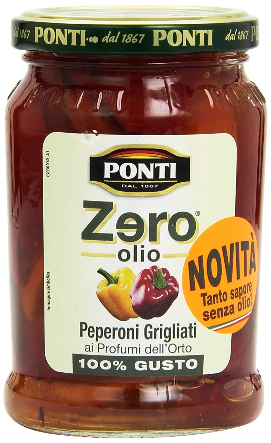 PIMENT ITA  ZERO OLIO GRILLED PEPPERS 290G