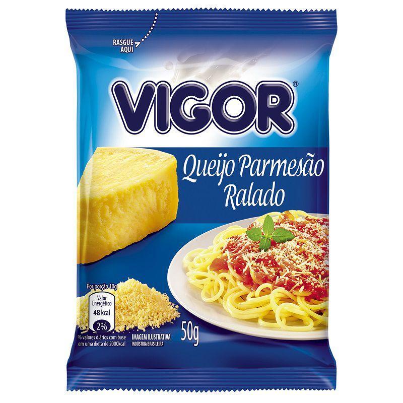 QUEIJO PARMESAO RALADO VIGOR 50G