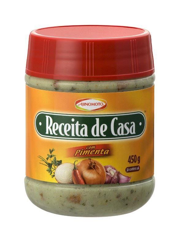 RECEITA DE CASA 450G C/PIMENTA