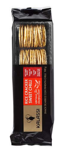 SNACK KALASSI CRACKERS SWEET CHILLI 100 G