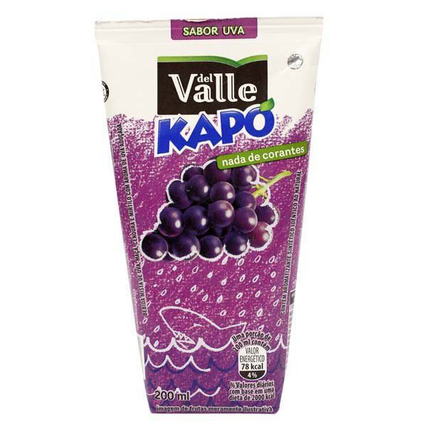 SUCO KAPO UVA 200ML