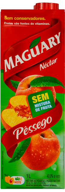 SUCO MAGUARY PPB PESSEGO 1L