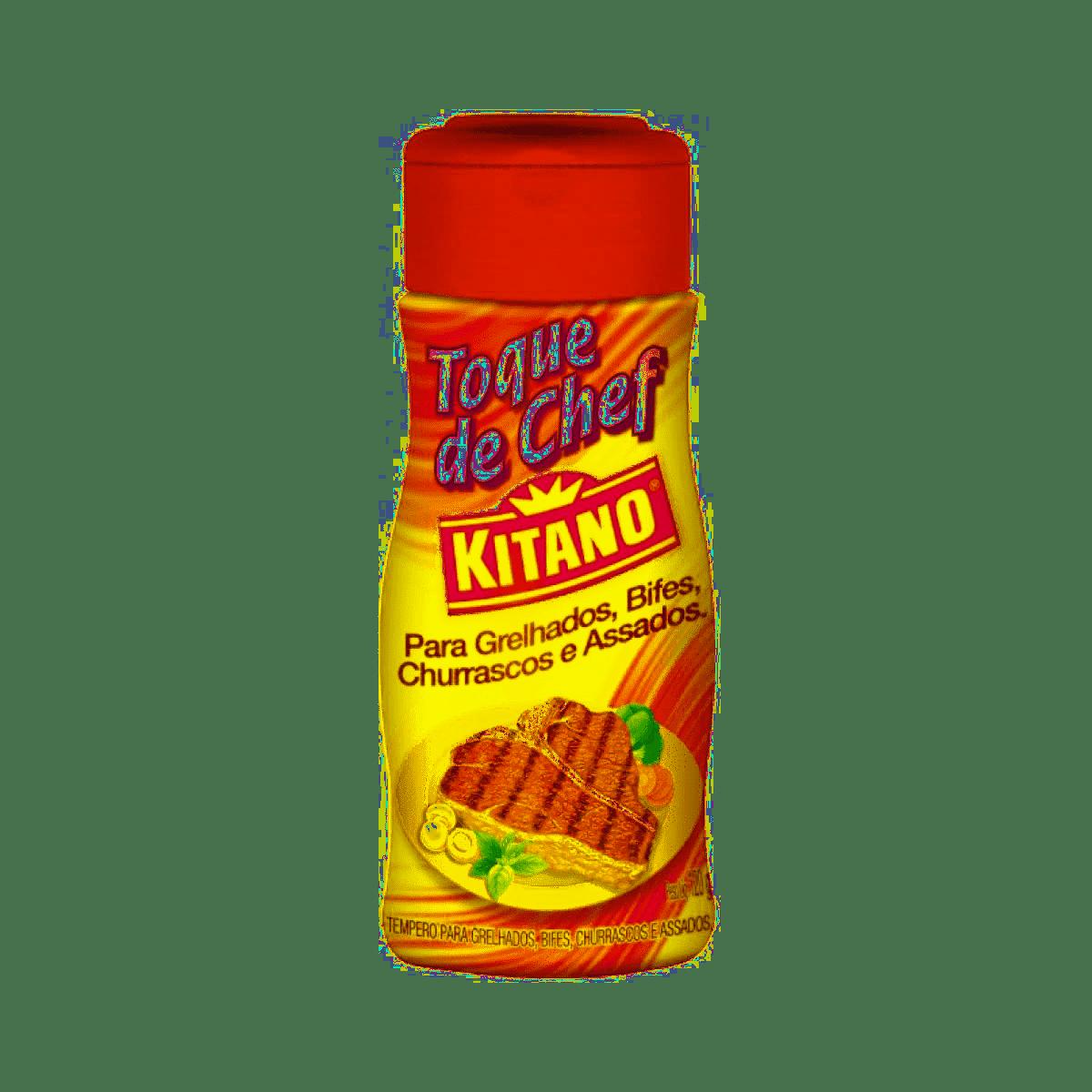TOQUE DE CHEF KITANO GRELHADOS/BIFE/CHURRASCO 120G