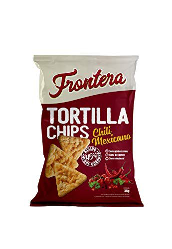 TORTILHA CHIPS CHILI MEXICANO 38G FRONTERA