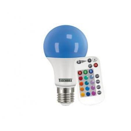 LAMPADA BULBO LED RGB 9W COM CONTROLE