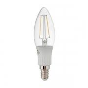 LAMPADA VELA LED FILAMENTO 3W E14 6400K