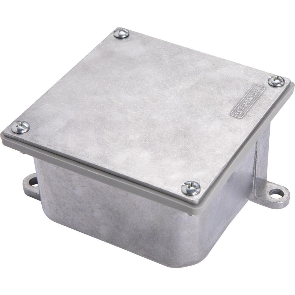 CX PASSAGEM METAL VEDADA 40 X 40 OLIVO