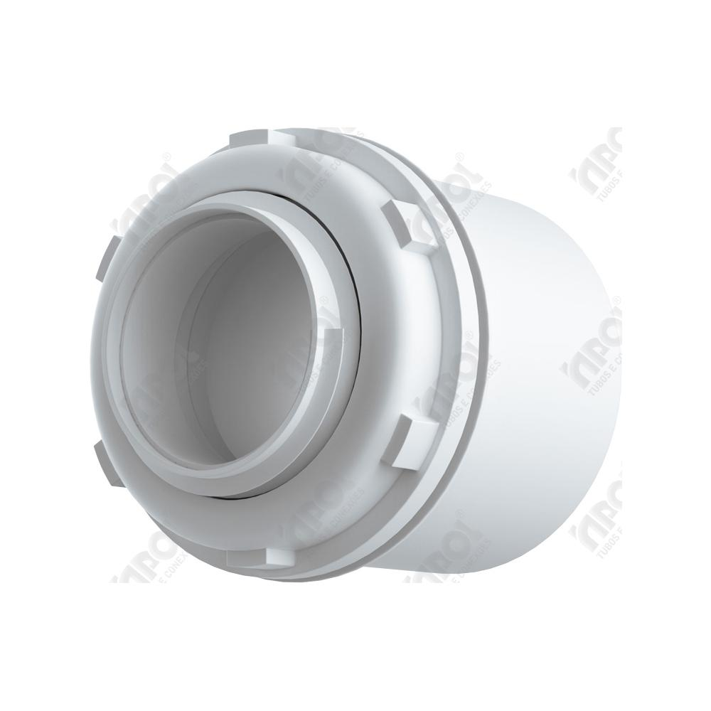 INPOL CONDUL CONECTOR BOX RETO 1/2 BRANCO