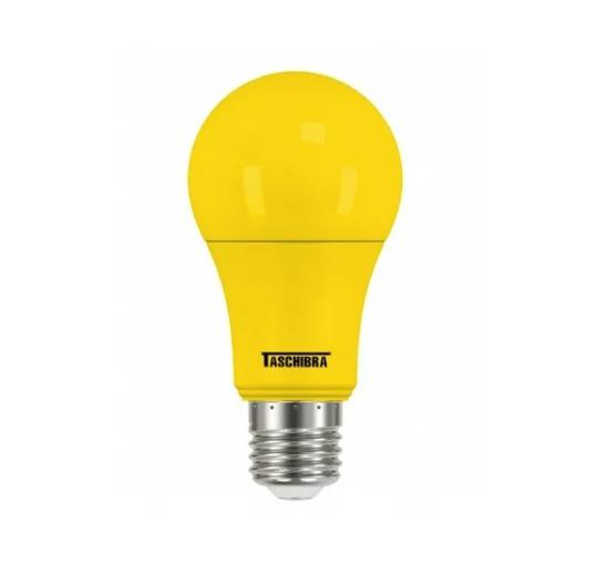 LAMPADA BULBO COLOR LED A60 5W AMBAR