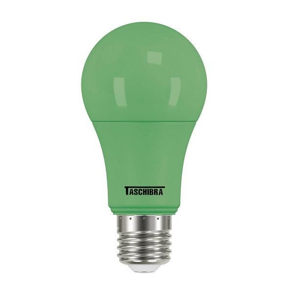 LAMPADA BULBO COLOR LED A60 5W VERDE