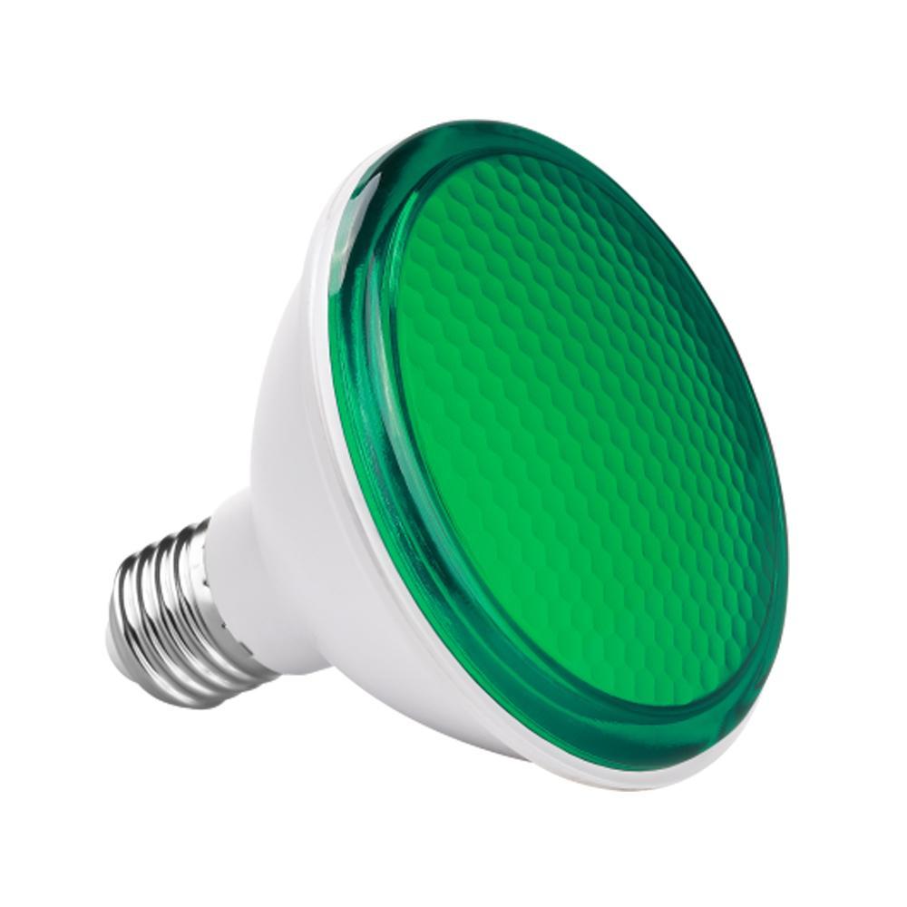 LAMPADA PAR 30 LED 11W VERDE