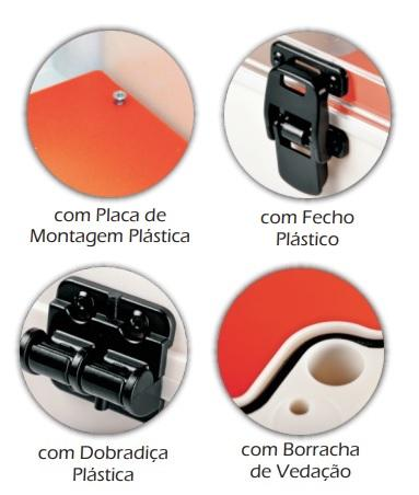 QUADRO COM PVC TRANSP 211503 25X16X12 SCHUHMACHER