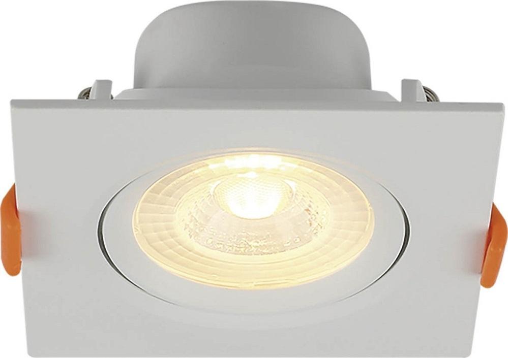 SPOT LED 8/10W EMBUTIR QUADRADO 6500K