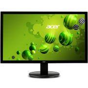 Monitor Acer 21,5´ Full HD 5ms VGA/DVI Ajuste de Inclinação de -5 a 25 Graus VESA K222HQL 110/220V bivolt
